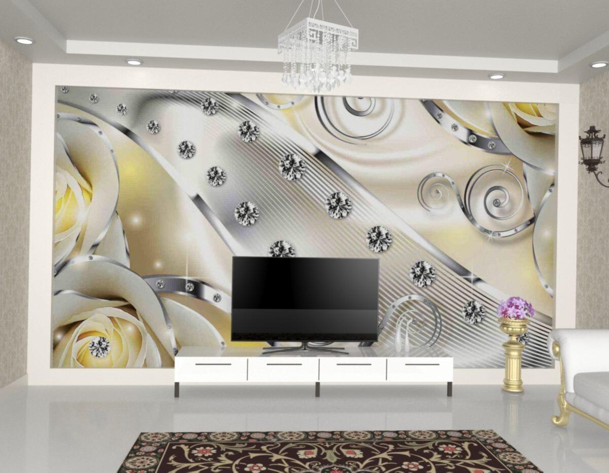 customized printed wallpaper designs