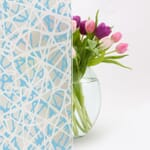 Design No.101 frosted film in omr